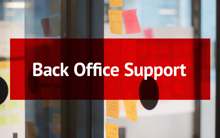 Back Office Support Button (Rollover)