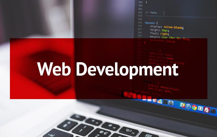 Web Development Button (Rollover)